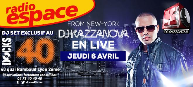 DJ KAZZANOVA LIVE - DJ SET EXCLUSIF