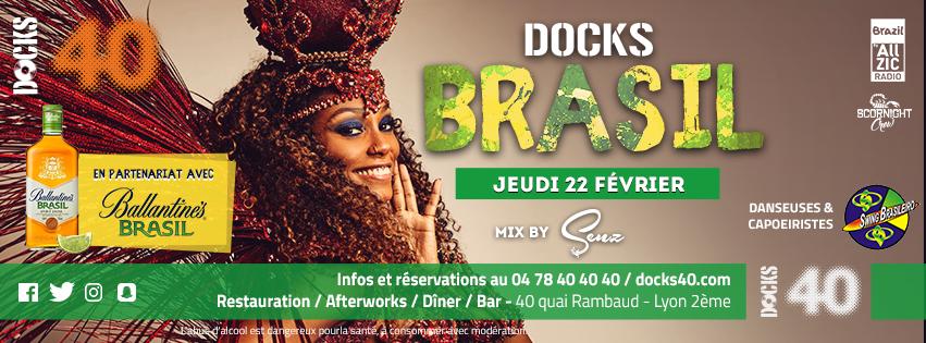 Jeudi 22 Février - DOCKS BRASIL - DJ Senz
