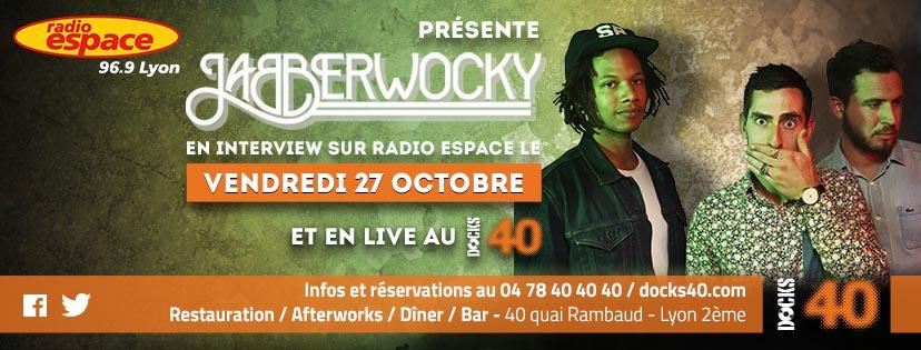 Vendredi 27 octobre - JABBERWOCKY - DJ SET - évènement
