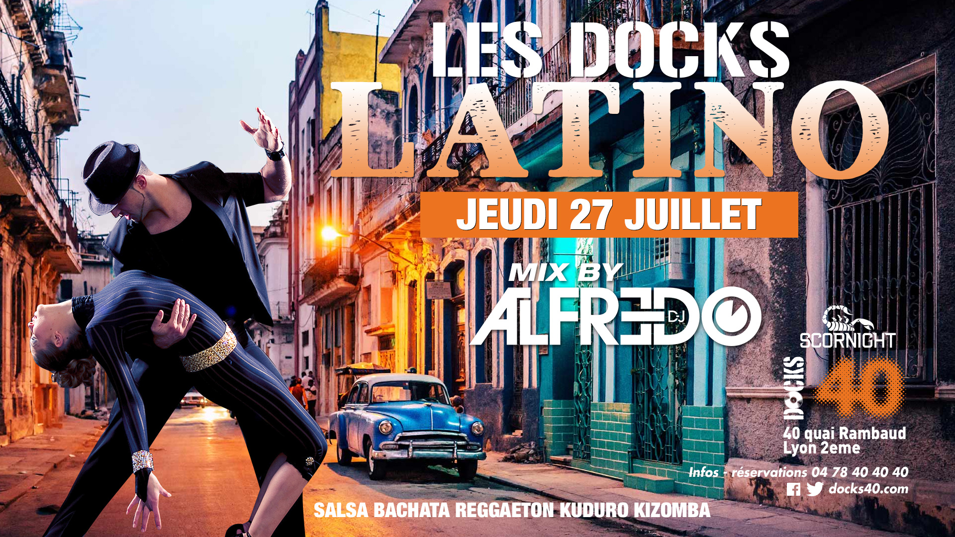 LES DOCKS LATINO - DJ ALFREDO