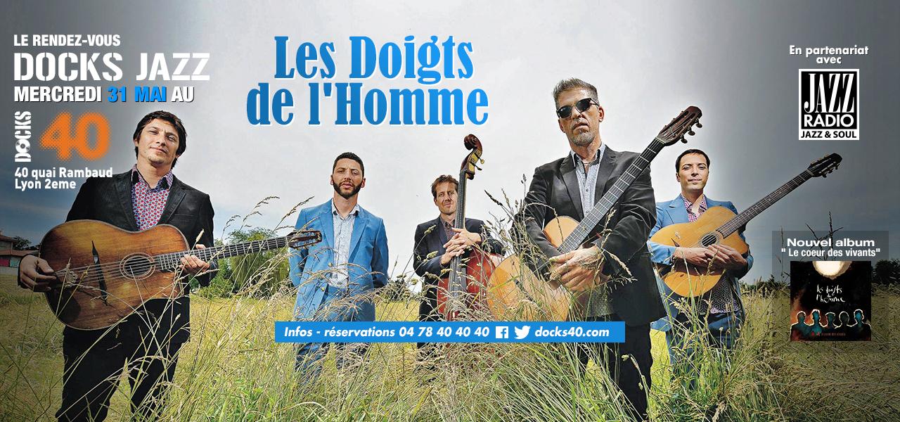 Mercredi Docks Jazz - LES DOIGTS DE L'HOMME