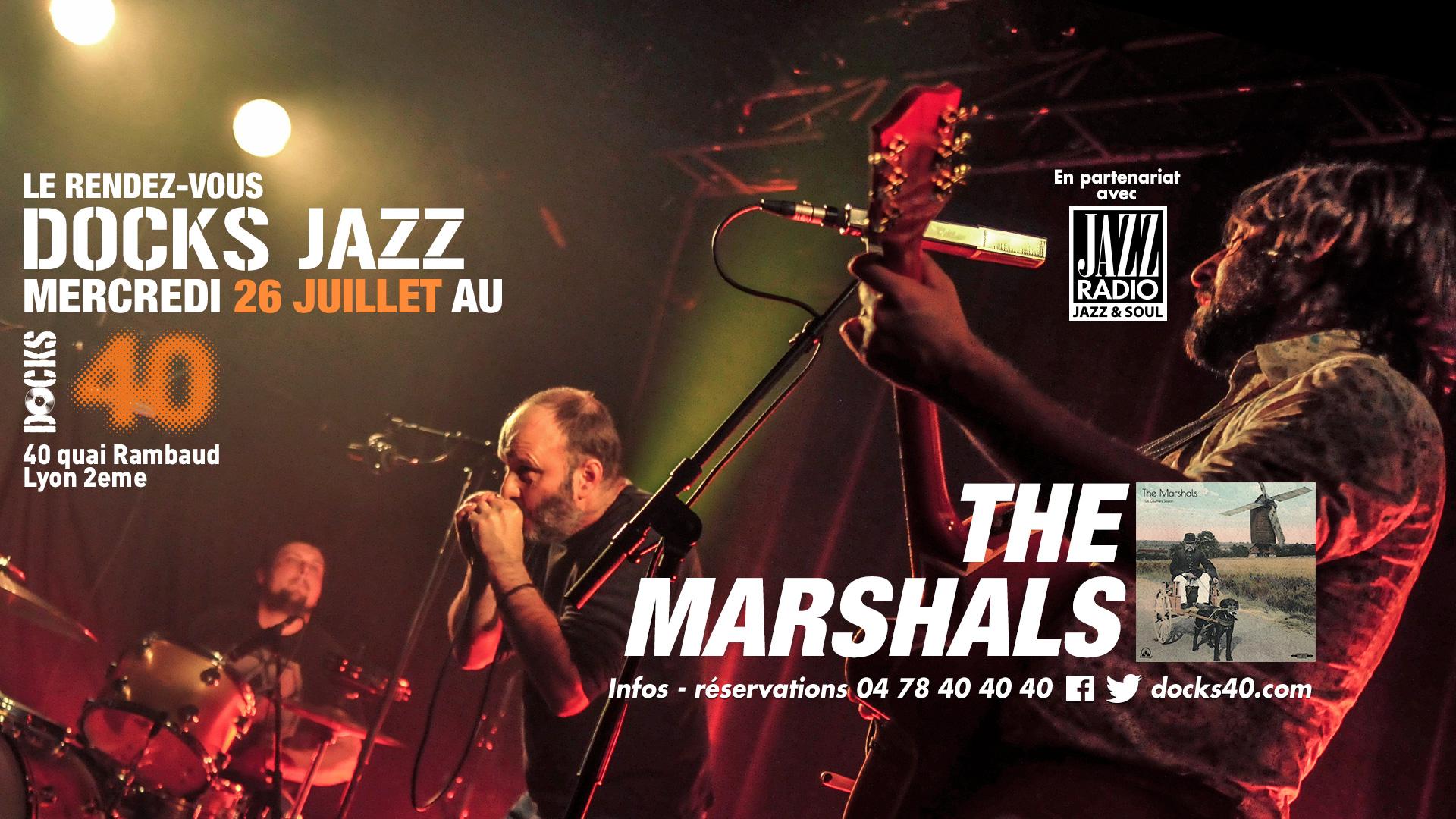 Mercredi Docks Jazz - THE MARSHALS