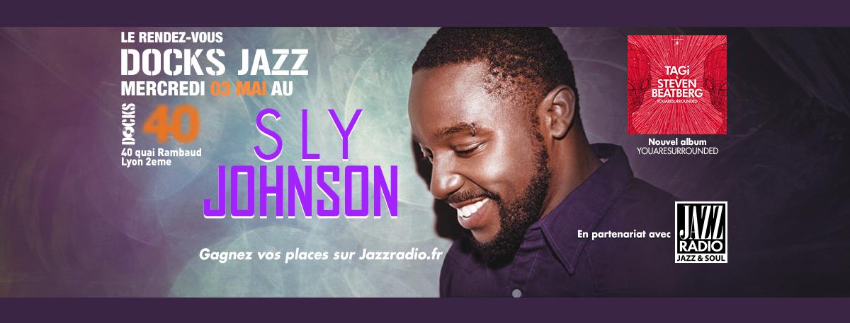 Mercredi Docks Jazz - SLY JOHNSON