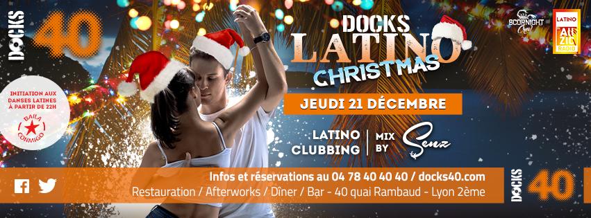 Jeudi 21 décembre - DOCKS LATINO - Reggaeton Christmas