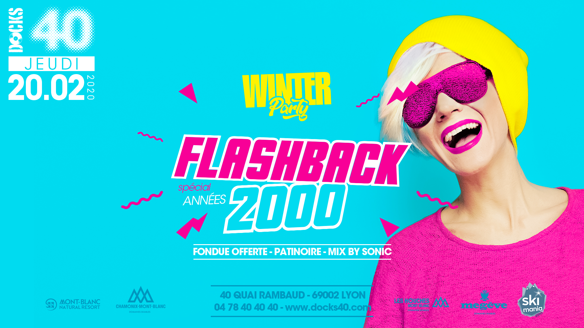 Winter Party - Flashback années 2000