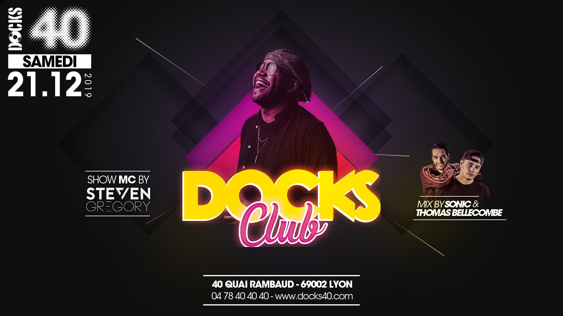 Docks Club - Steven Gregory