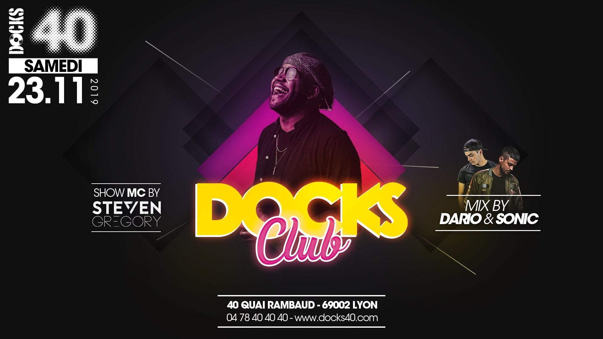 Docks Club - Steven Gregory & Dario