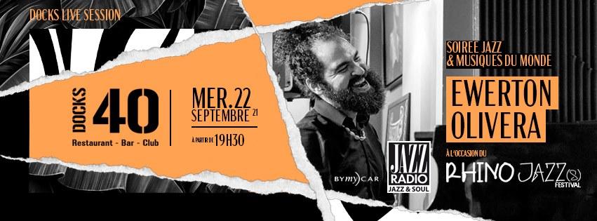Docks Live Session - Ewerton Oliveira avec le Rhino Jazz Festival
