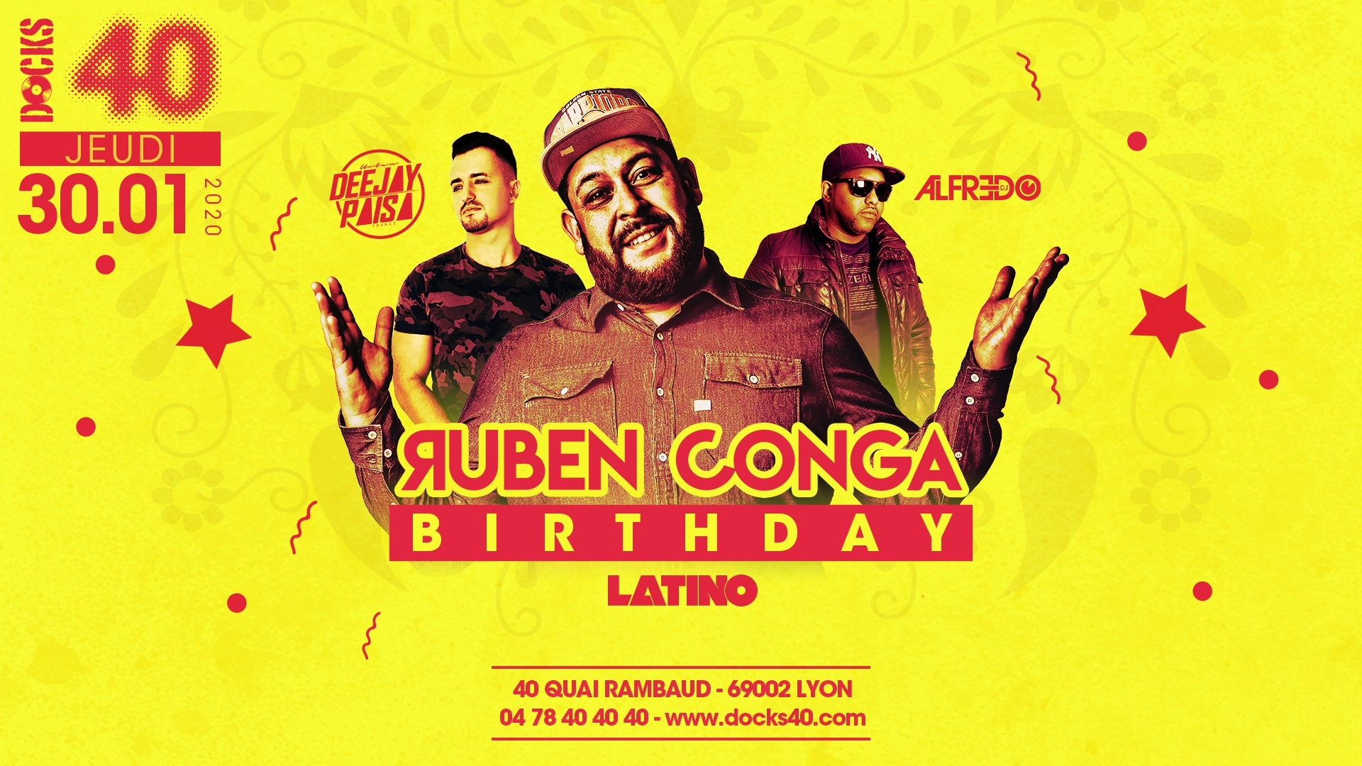 Ruben Conga Birthday