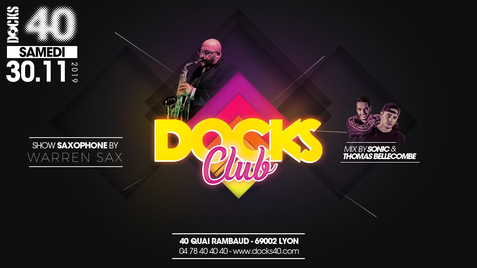 Docks Club - Warren Sax