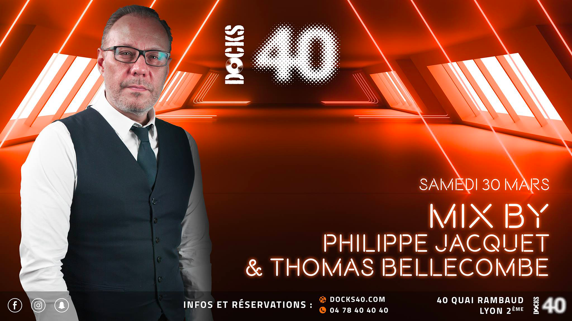 Philippe Jacquet et Thomas Bellecombe - Docks Club