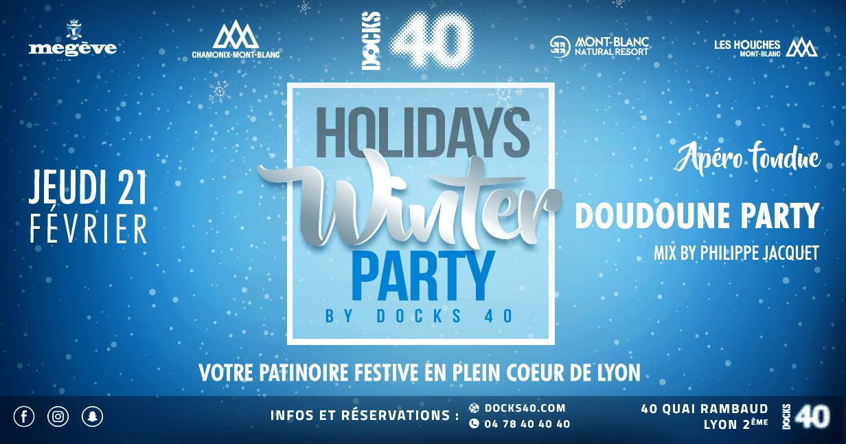 Holidays Winter Party