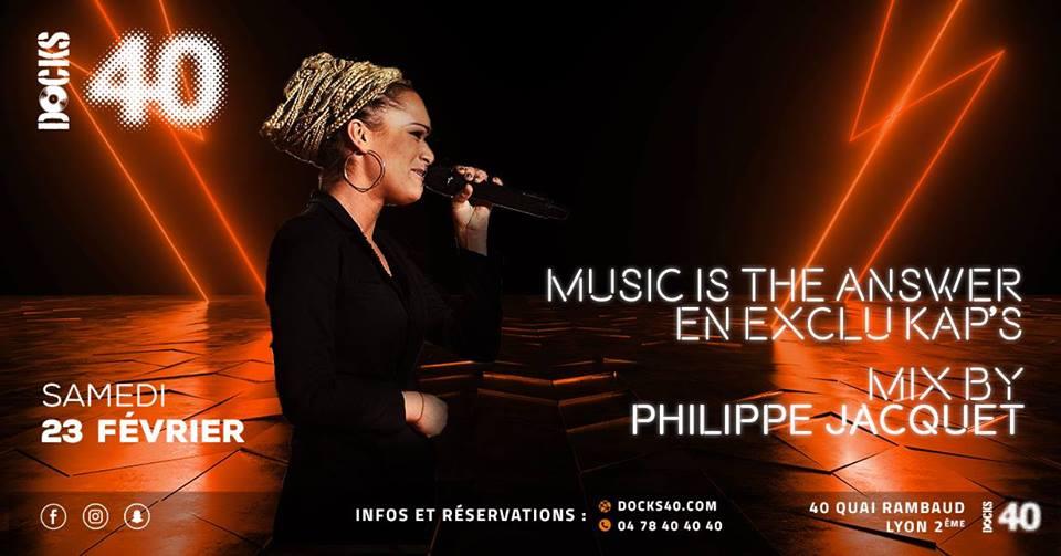 Music is the answer avec KAP'S