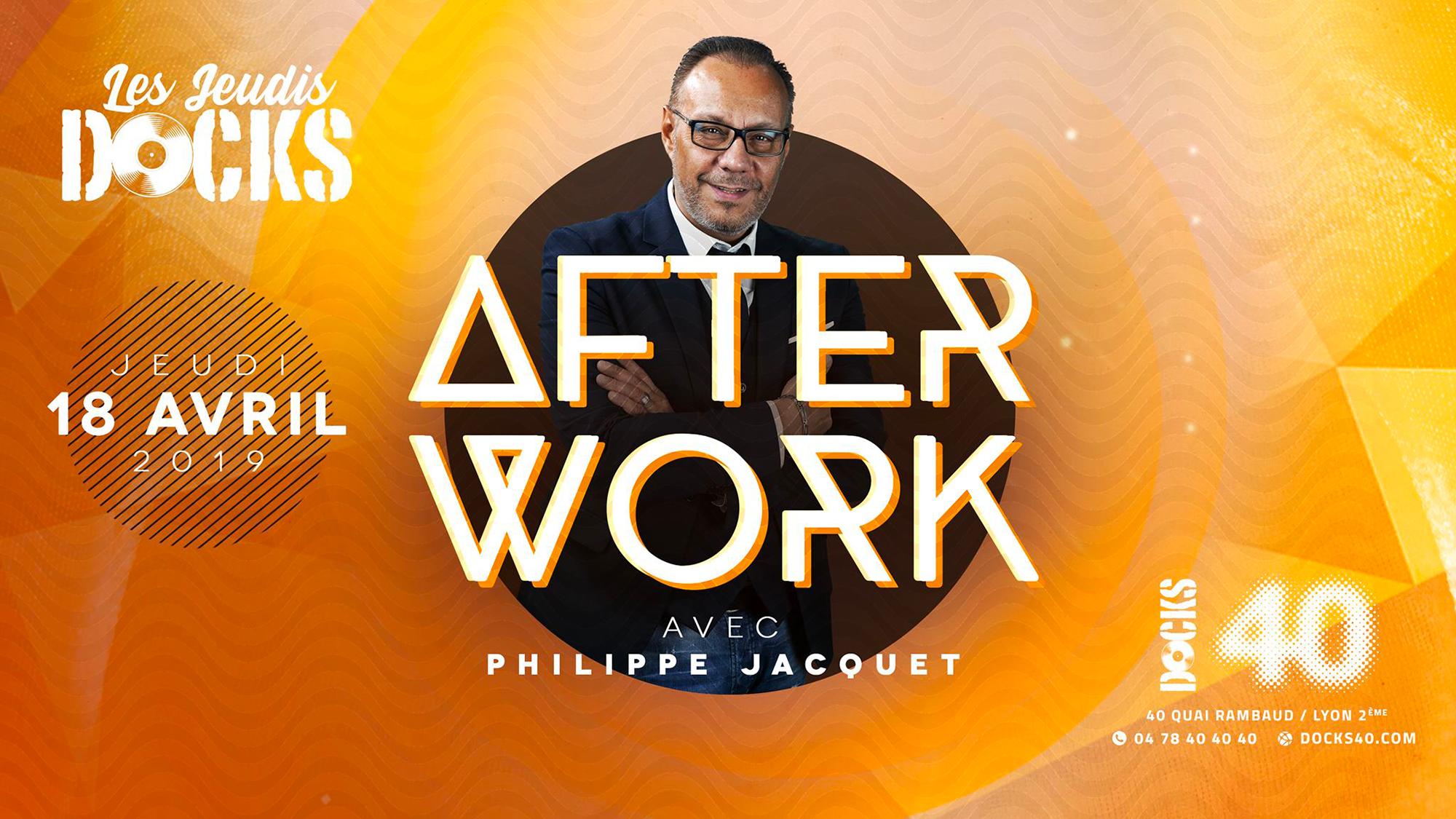 L'afterwork avec Philippe Jacquet