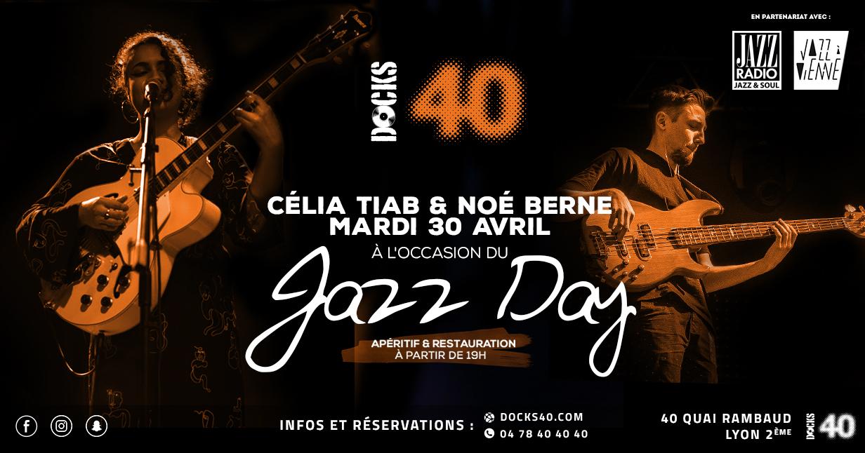 Jazz Day avec Célia Tiab et Noé Berne