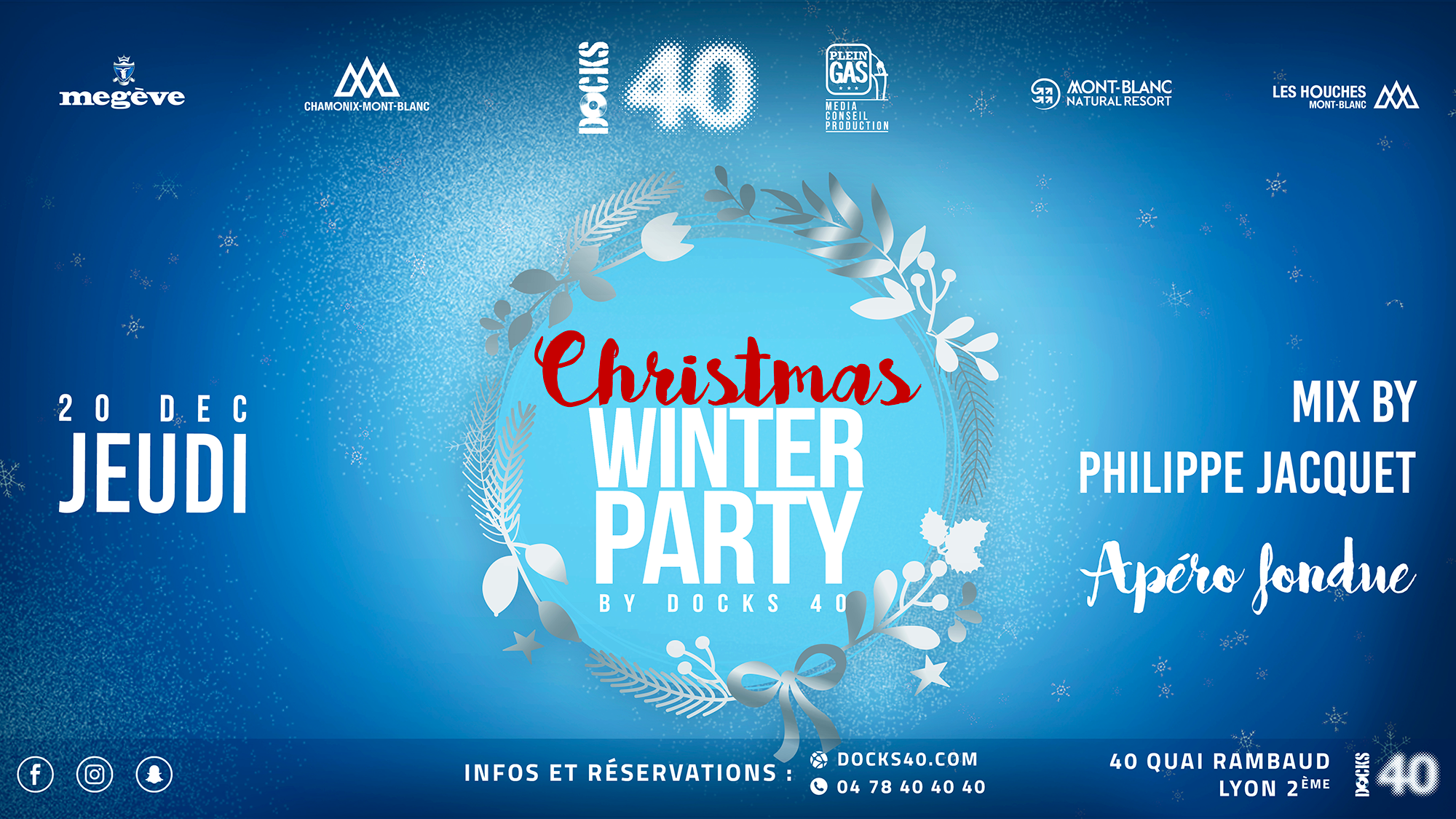 Christmas Winter Party