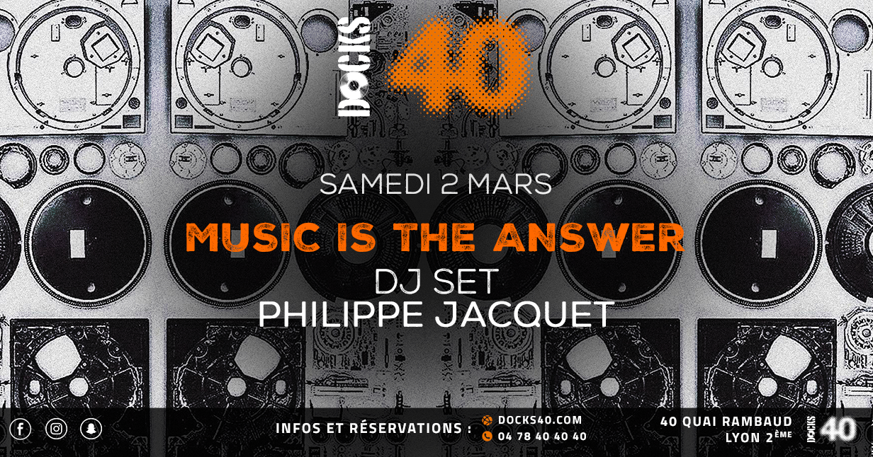 Music Is The Answer by Philippe Jacquet