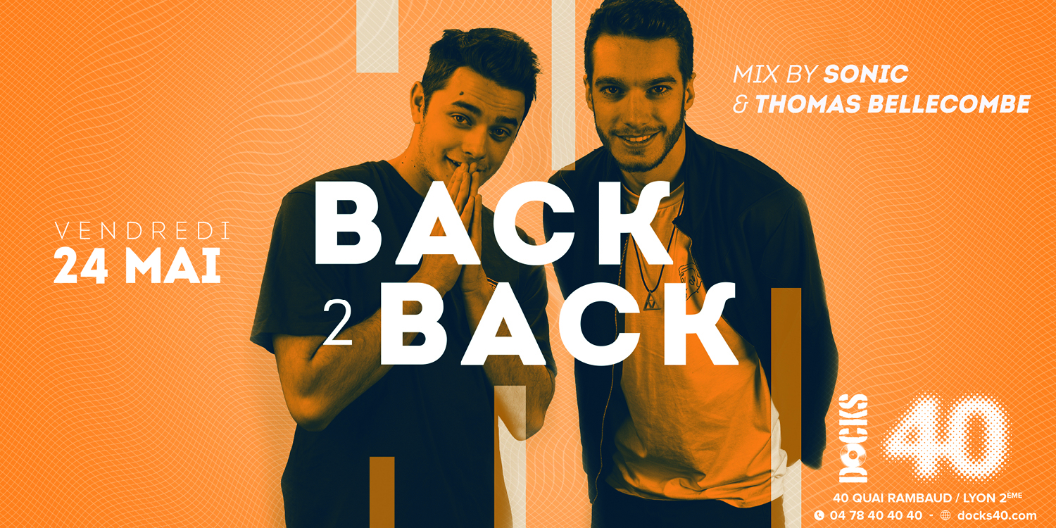 Back 2 Back - Mix by Sonic & Thomas Bellecombe